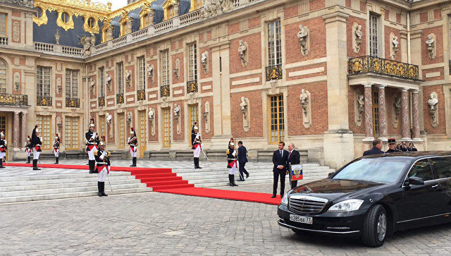 Путин вместе сМакроном откроет встолице франции выставку Эрмитажа