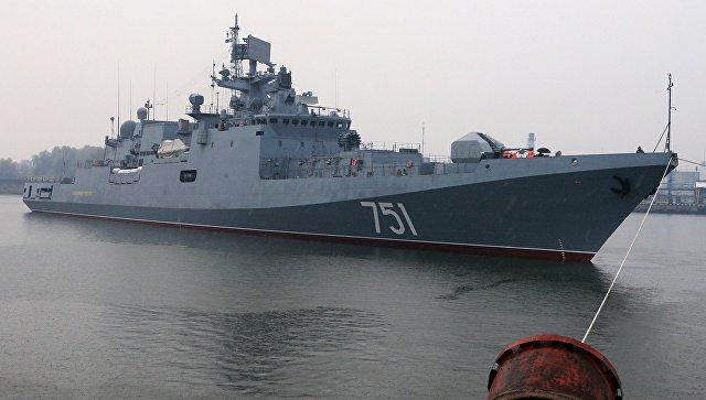 Русские ВМФ ударили «Калибрами» потеррористам вСирии
