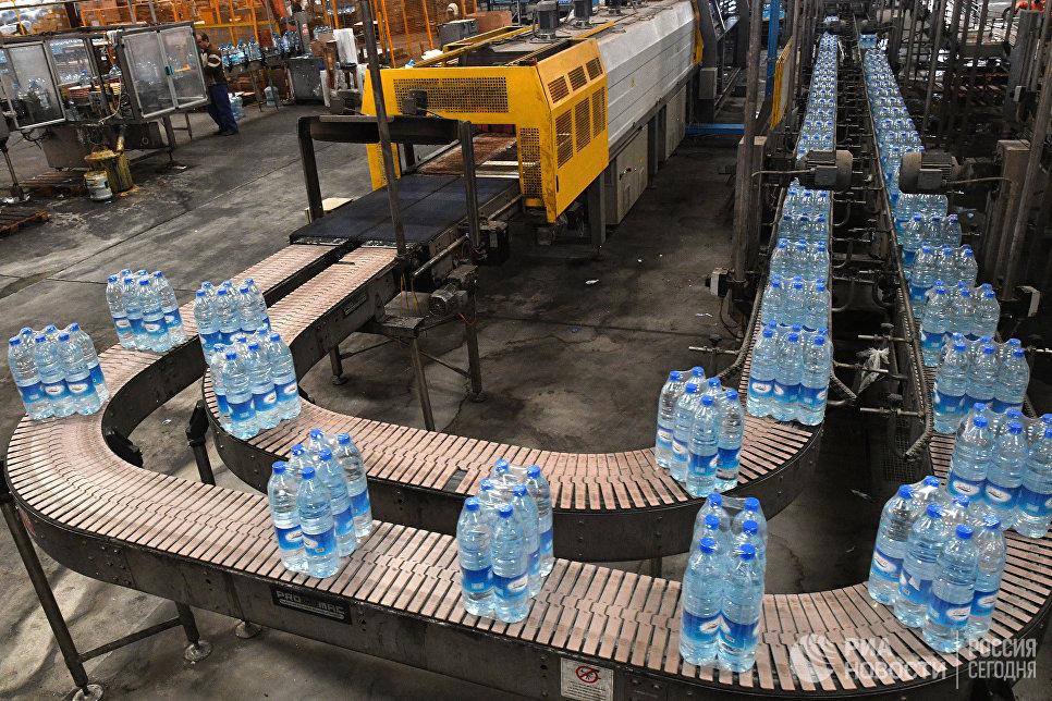 Производство минеральной воды Figeh в пригороде Дамаска
