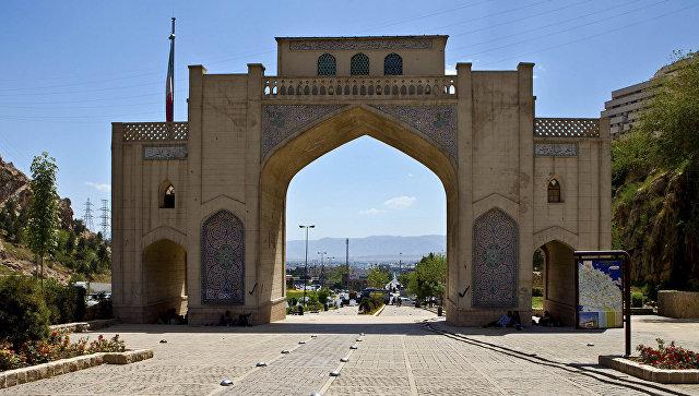 В иранском городе Шираз прогремел мощный взрыв