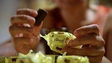 Шоколадные конфеты фирмы Roshen. Архивное фото
