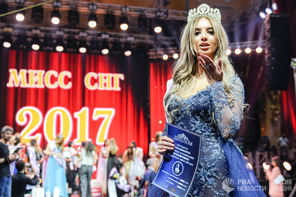 Победительница конкурса красоты Мисс СНГ-2017 Шушан Ерицян