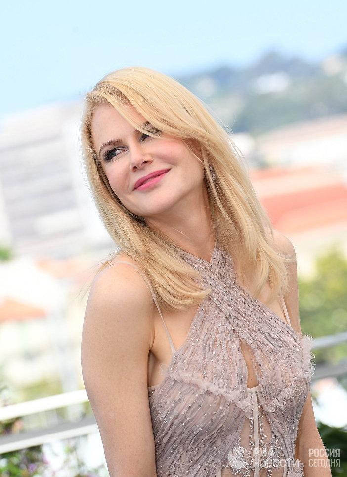 Актриса Николь Кидман на фотоколле фильма Роковое искушение в рамках 70-го Каннского международного кинофестиваля