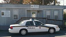 Автомобиль полиции США. Архивное фото