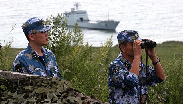 Китайские военнослужащие. Архивное фото