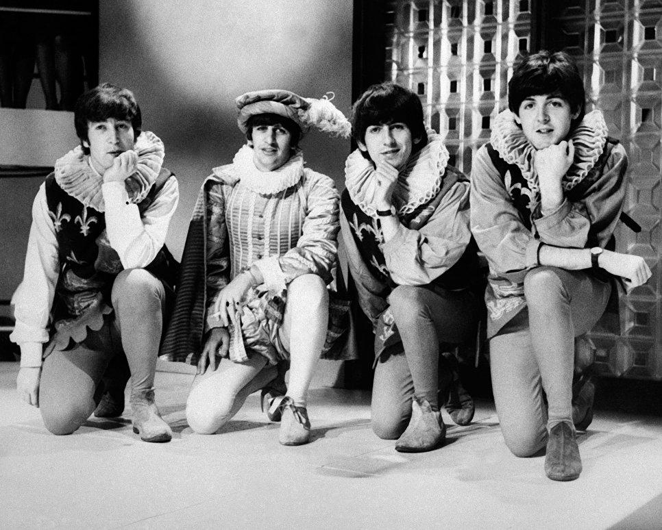 Британская группа The Beatles в Лондоне. 1964 год