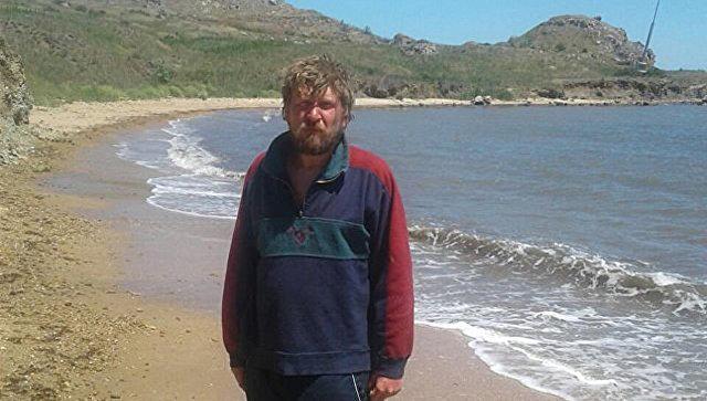 Мужчина, пытавшийся переплыть Керченский пролив