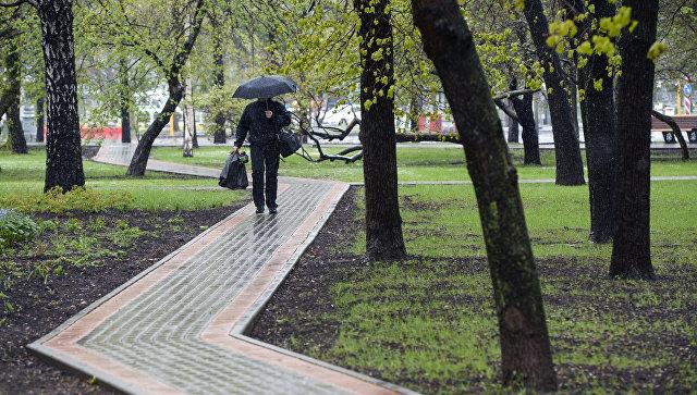 Похолодание придет в российскую столицу иобласть вовторник