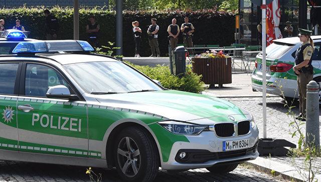 Полиция в Мюнхене. Архивное фото
