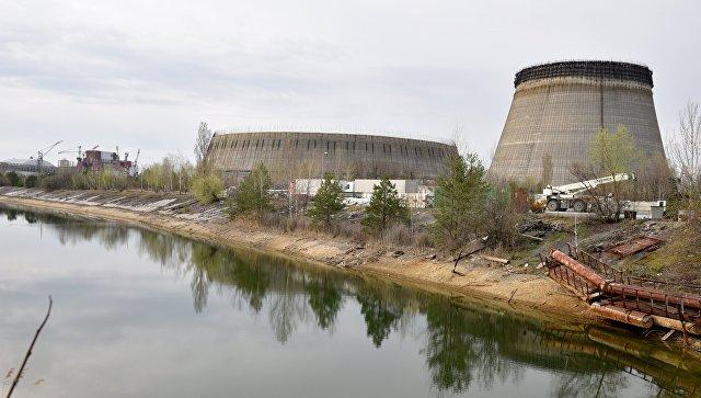 Один из энергоблоков Чернобыльской атомной электростанции. Архивное фото