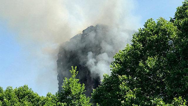 Число жертв пожара вЛондоне увеличилось до17 человек