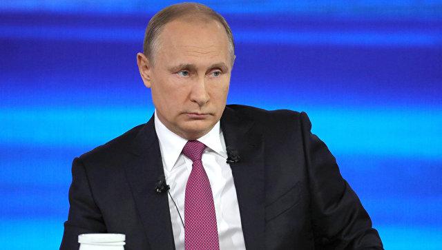 Путин: Нужно установить минимум заработной платы для молодых преподавателей