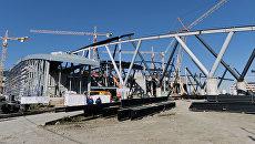 Строительство нового аэропорта Платов в Ростове-на-Дону. Архивное фото
