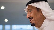Король Саудовской Аравии. Архивное фото