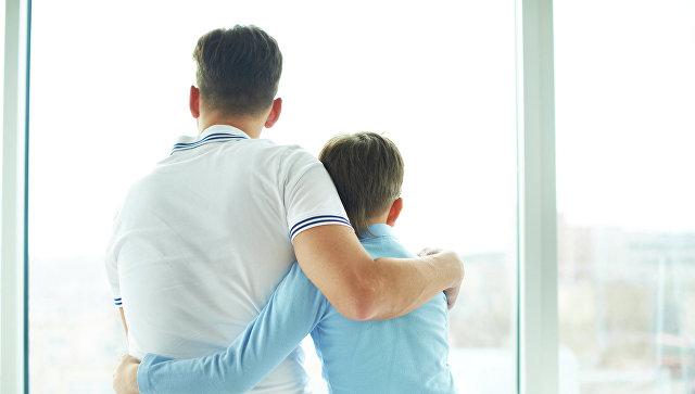 Отец и сын море спермы