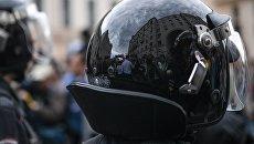 Полицейские на Тверской улице в Москве во время несанкционированной акции. Архивное фото