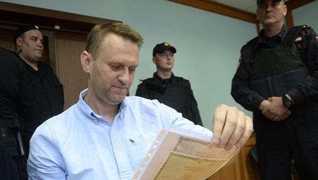 ЦИК: Навальный из-за судимости не может участвовать в выборах
