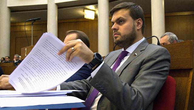 Депутат Госдумы РФ Артем Туров. Архивное фото