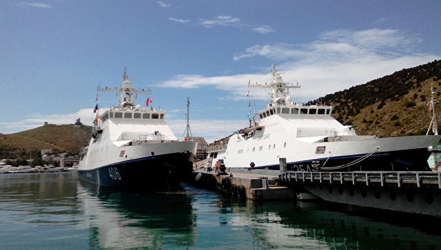ВКрым отправили очередной пограничный сторожевой корабль