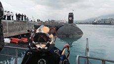 ВМФ России успешно провел первые морские испытания новейшего спасательного снаряжения подводника