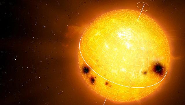 Так художник представил себе планету и звезду которые может открыть телескоп PLATO
