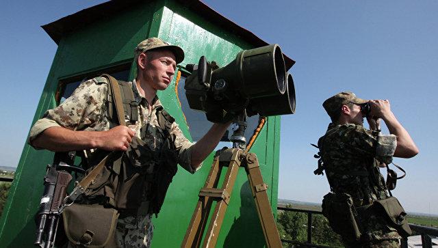 Российские пограничники. Архивное фото