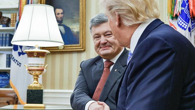 После визита Порошенко вСША, Геращенко сообщила: короткие встречи— это стиль Трампа