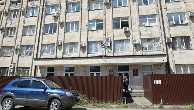 Здание правительства Абхазии в Сухуме