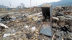 Нагорный Карабах. Разрушенный город Ходжалы. Архивное фото