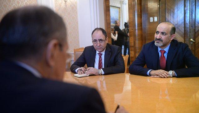 Лавров обсудил с сирийской оппозицией урегулирование в стране