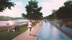 Проект благоустройства Андреевской набережной