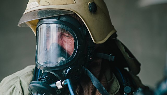 В Петербурге потушили пожар в торговом центре