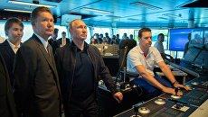 Владимир Путин и председатель правления ПАО Газпром Алексей Миллер. 23 июня 2017