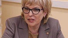 Уполномоченный по правам ребенка в Саратовской области Татьяна Загородняя