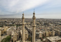 Вид на сирийский город Алеппо. Сирия, 18.02.2016