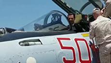 Асад за штурвалом российского Су-35 – президент Сирии посетил авиабазу Хмеймим
