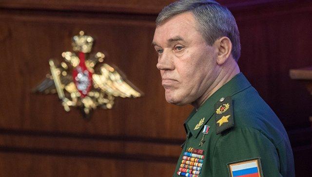 Руководителя Генштабов Российской Федерации иСША обсудили ситуацию наБлижнем Востоке