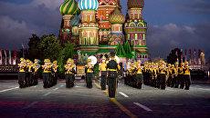 Центральный военный оркестр Министерства обороны на фестивале Спасская башня