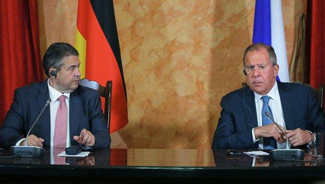Лавров отметил, что Россия и Германия никогда не прекращали диалог
