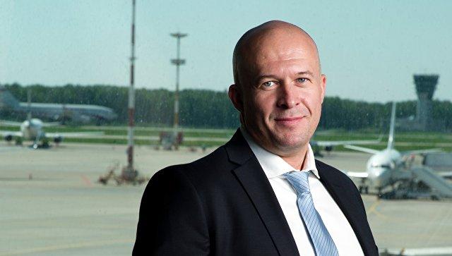 Гендиректор авиакомпании Победа Андрей Калмыков. Архивное фото
