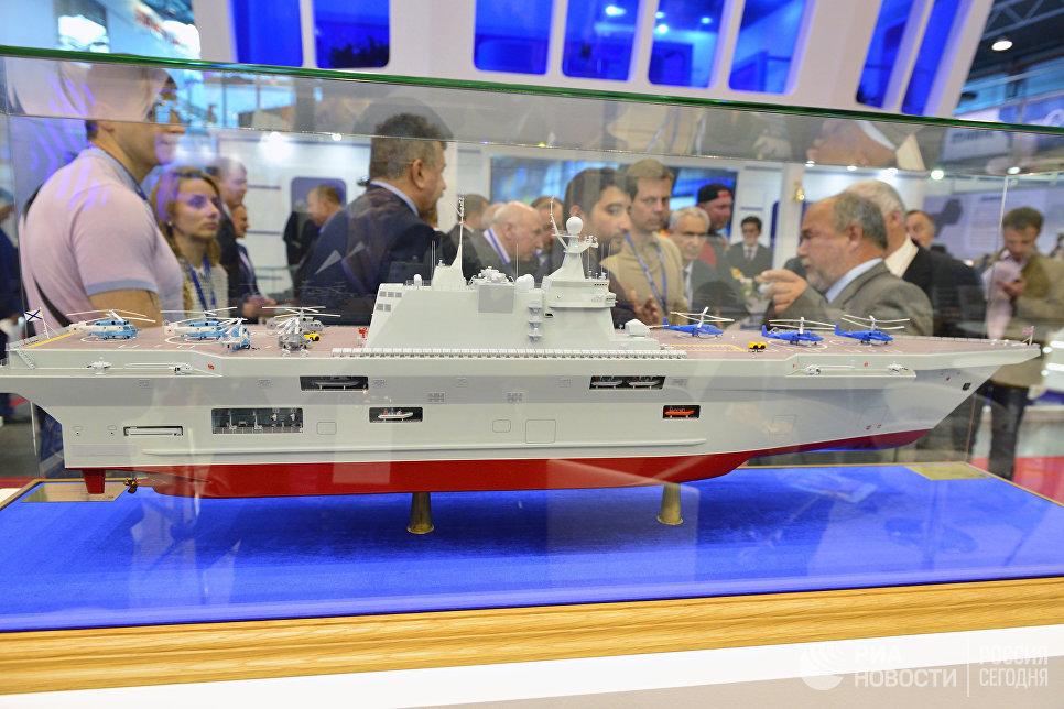 В РФ разрабатывают десантный корабль «Прибой», превосходящий попоказателям «Мистрали»