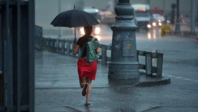 Дождь в Москве. Архивное