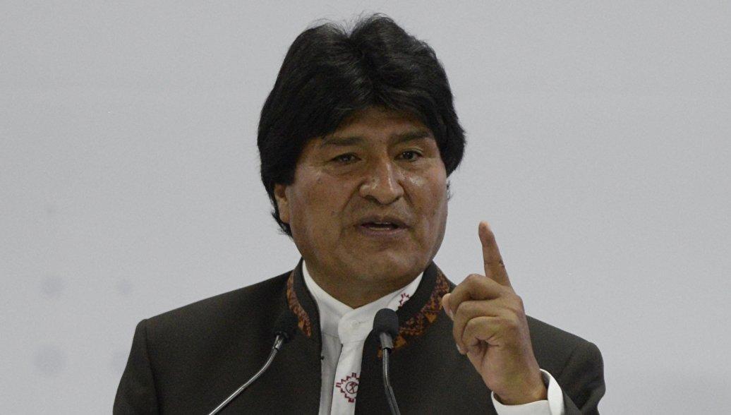 Моралес предложил разогнать Управление по борьбе с наркотиками США