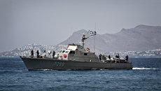 Корабль береговой охраны Греции. Архивное фото