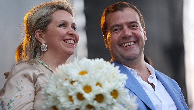 Светлана Медведева поведала опредстоящей свадьбе спремьер-министром