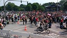 Протесты во время саммита G20 в Гамбурге. Архивное фото
