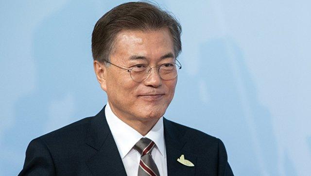 Президент Южной Кореи уверен, что наполуострове небудет войны