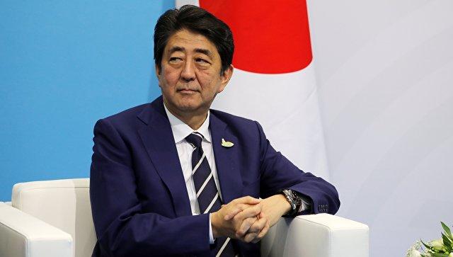 Абэ заявил, что хочет посетить Россию после выборов