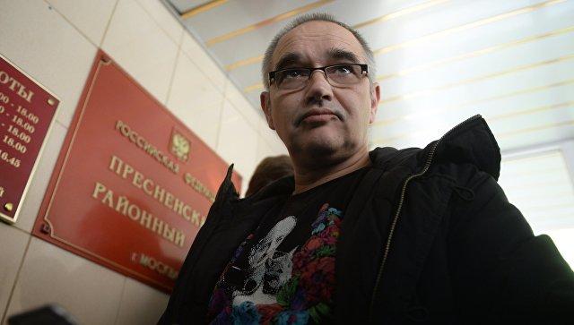 Блогер Антон Носик, обвиняемый в распространении экстремистских материалов в интернете. Архивное фото