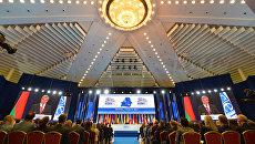 Заседание 26-й ежегодной сессии Парламентской ассамблеи ОБСЕ в Минске. 5 июля 2017